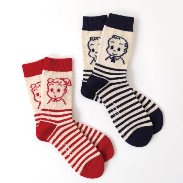 「靴下屋×OSAMU GOODS」