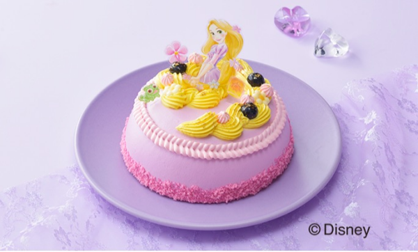 【ご予約受付中】<ラプンツェル>ドレスケーキ